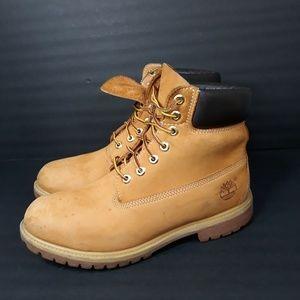 "Timberland 6"" Premium Waterproof  Boots Sz 9"